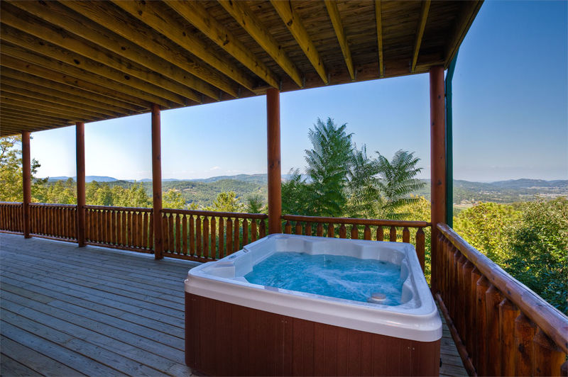 The Cabin Rental Store: Million Dollar View in Wears Valley – The ...
