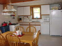 Full Kitchen with brand new Dish Washer. Full size fridge, micro and plenty of seating.