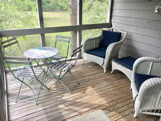 You'll love the views from this great screened in porch with marsh view.
