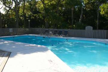 Owners and guests of Creekwatch villas have access to the neighborhood pool.