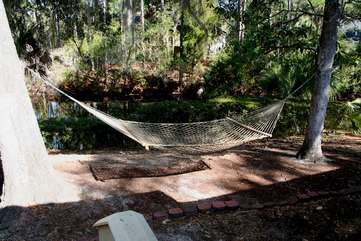Take a nap in the hammock.