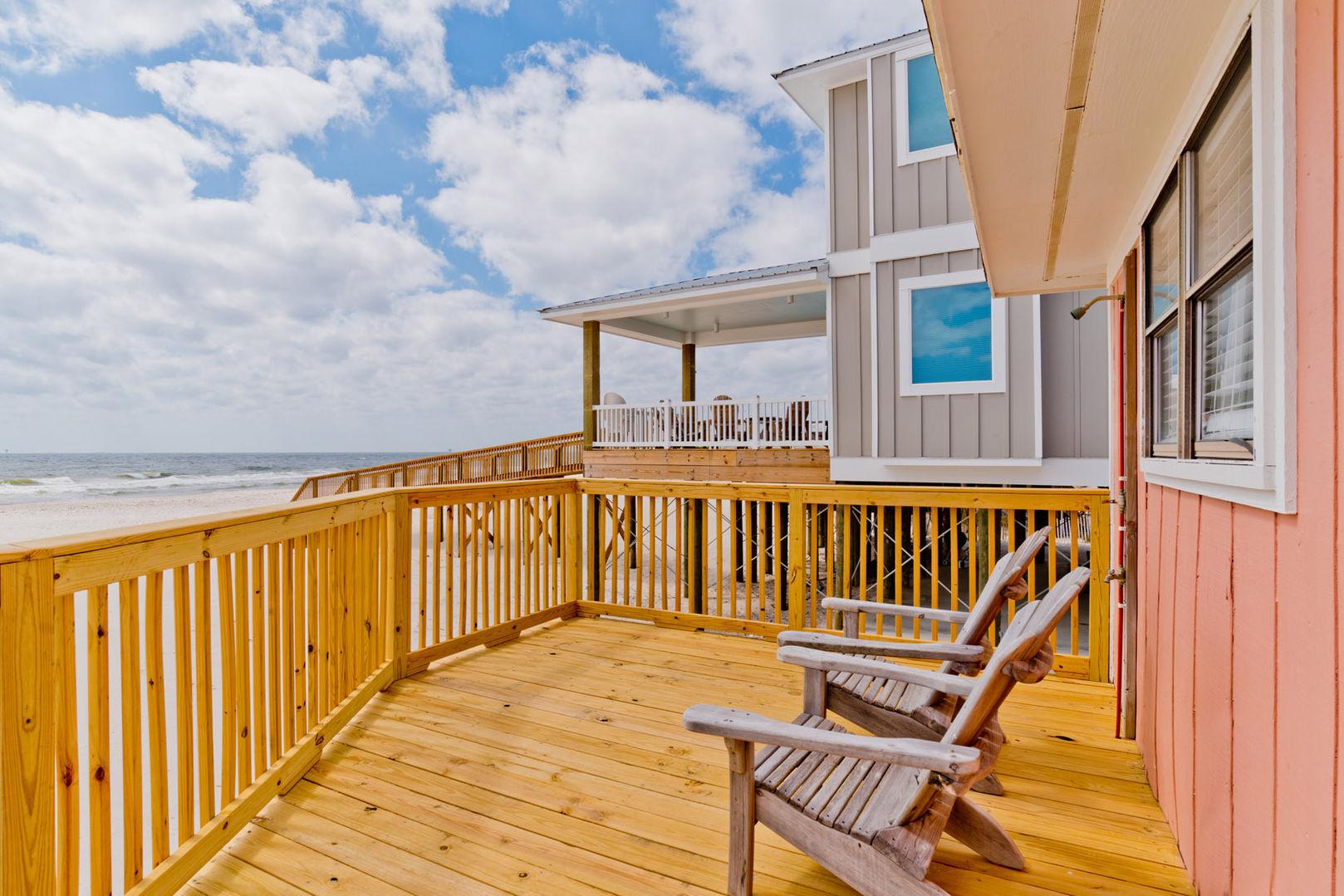 Splish Beach Front House Rental in Fort Morgan Alabama