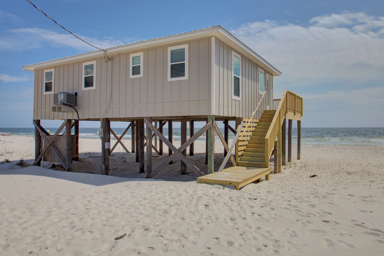 Thatll do Beach Front House Rental in Fort Morgan Alabama