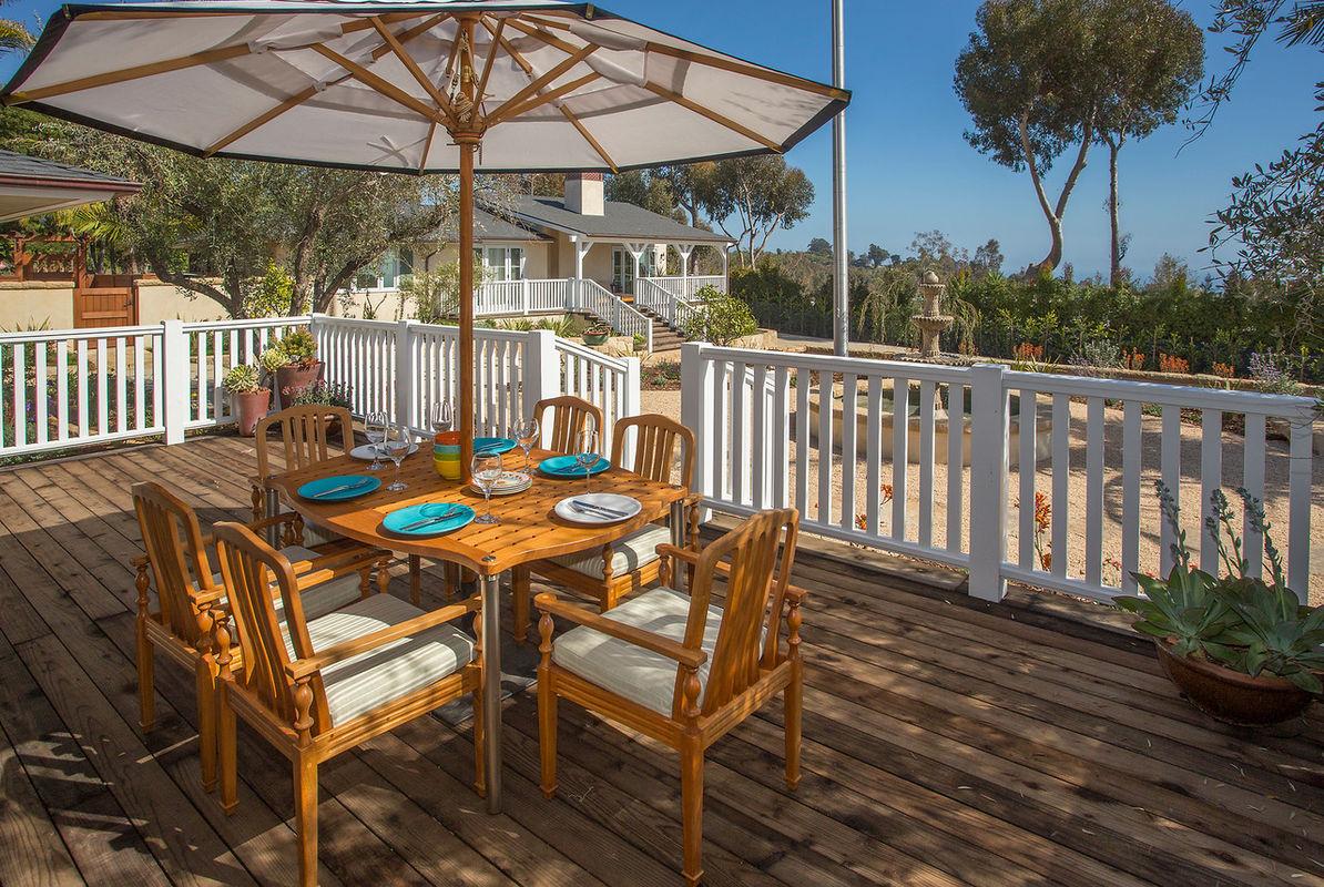 Paradise retreats bella vista in carpinteria gorgeous for Vacation homes santa barbara