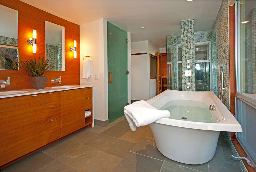 Master Bathroom, spa-like luxury