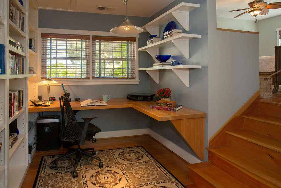 Library/Office, step up to Master Bedroom