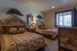 Bottom Floor Bedroom #2 - 2 Full Sized Beds With en-suite bathroom