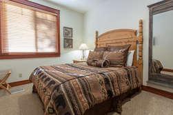 Bottom Floor- Bedroom #3- Queen Sized Bed