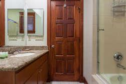 Bottom Floor- Shared Bathroom between bedroom #3 and #4