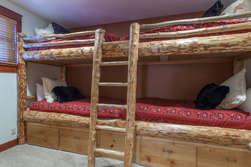 Bottom Floor-Bedroom #4/den- Built in Bunk Beds ( 4 twin beds total)