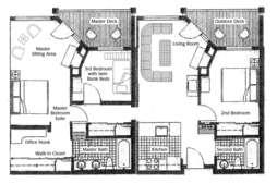 Floor Plan unit #203