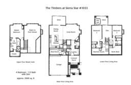 Floor Plan Timbers #1033