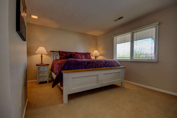 Guest Bedroom 2.  King Bed.