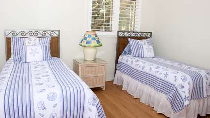 The 3rd bedroom is perfect for the children.