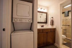 Laundry Closet/ Downstairs Bathroom Entrance