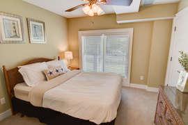 First Floor Queen bedroom with shared Jack-n-Jill