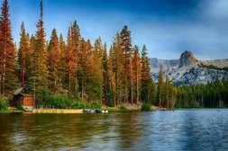 Mamoth Lakes in Fall