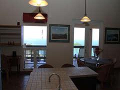 Looking towards Balcony from Kitchen