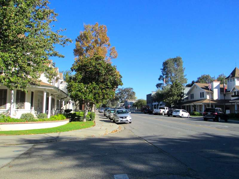 Right in the heart of downtown Los Olivos