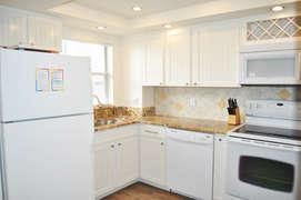 Upgraded Kitchen w/ granite and Flat top StoveEl Matador Resort, Okaloosa Island Fort Walton Beach Vacation Rentals