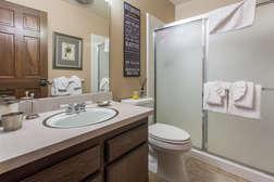 Guest Bathroom #3- Full Bath- shower and tub