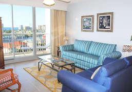 Living RoomThe Terrace at Pelican Beach Resort Destin Florida Vacation Rentals