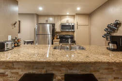 Kitchen fully Equipped/Stainless Steel