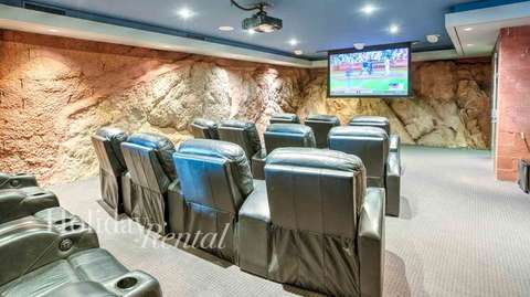 Private movie theater built into the popular Camelback Mountain!