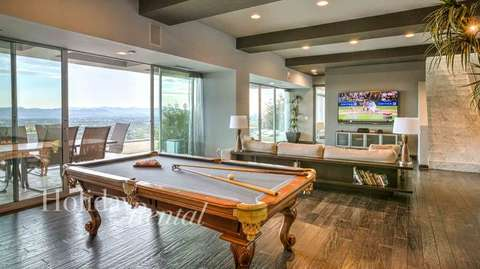 Downstairs game room next to the theater!