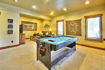 Pool and Air Hockey Table combination, Xbox One and 55