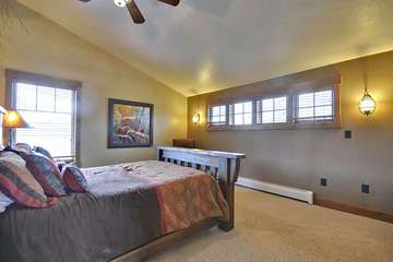 Guest Suite with Queen Bed and Western View