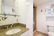 Bathoom with shower stall