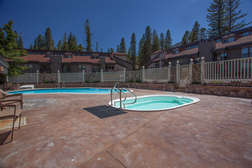Communal Seasonal Pool - Summer only and Hot Tubs Year Round