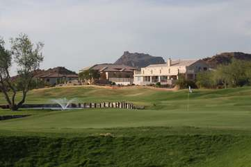 Mesa is famous for its many fabulous golf courses