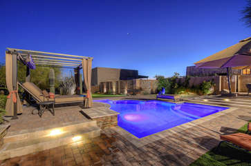Welcome to your own private oasis with five star resort amenities