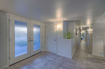 Bright foyer welcomes you to dream-come-true home