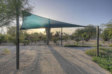 Additional shaded parking available under canopy