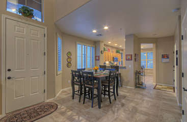 Formal dining room seats 6 when you desire elegant or casual dining experiences
