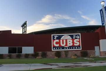 A short drive to the Chicago Cubs spring training at Riverview Park