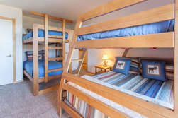 Bedroom #2- Bunk Room- 2 bunk beds ( twin over twin and twin over full)