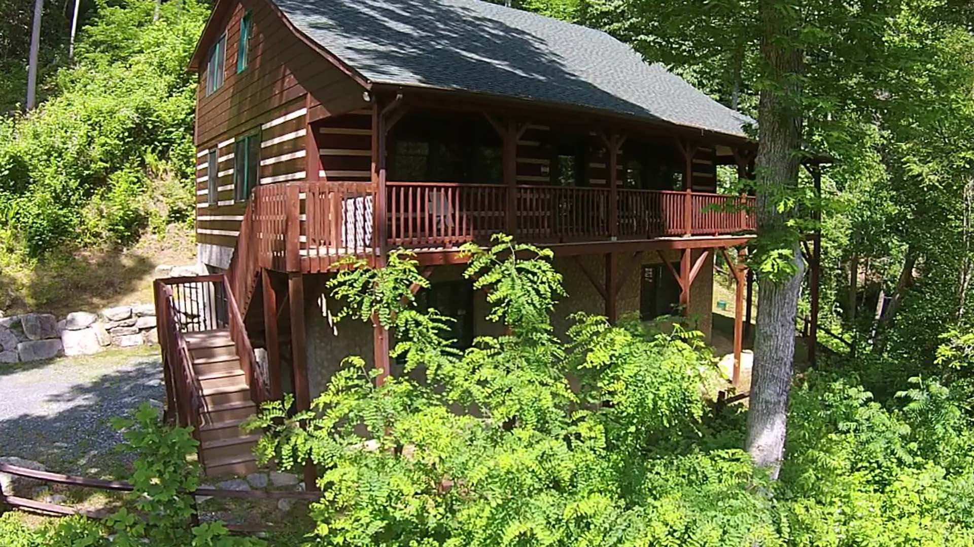 log carolina locations with sc inventory porch woodtex south cabins cabin