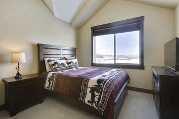 Third  bedroom suite with fantastic views.
