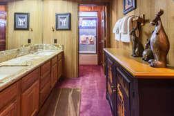 Master en-suite bathroom - attached to main floor master bedroom