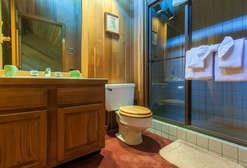 Loft bathroom #3- full bathroom/shower