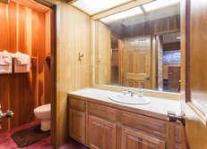 shared bathroom #2 between bedrooms #1 and #2