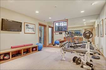 Work Out Facility Inside the Home