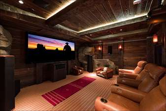 State of the art home theater - with movie library of hundreds of movies