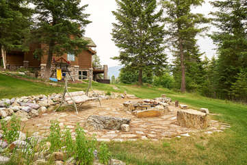 Fire Pit -Star View Lodge