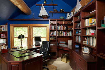 Upstairs office -Star View Lodge