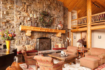 Living Room -Star View Lodge